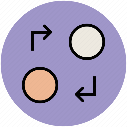 arrow pointing, directions, hints, indication icon