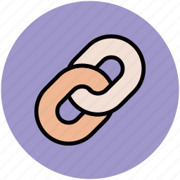 chain link, conjunction, connection, join, link icon