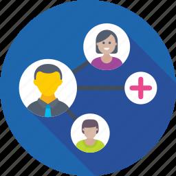 community, group, people, team, teamwork icon
