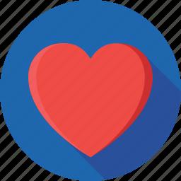 emotional, heart, like, love, spiritual icon
