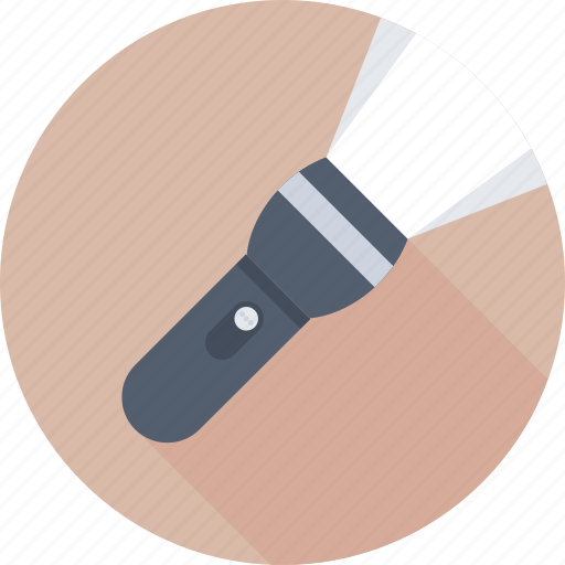 Electric light, flashlight, light, pocket torch, torch icon - Download on Iconfinder