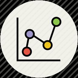 analysis, analytics, business chart, chart, graph, statistics icon