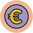 currency sign, currency symbol, euro sign, finance, money, wealth icon