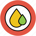 blood, drops, falling drops, oil, rain, tear, two drops, water icon