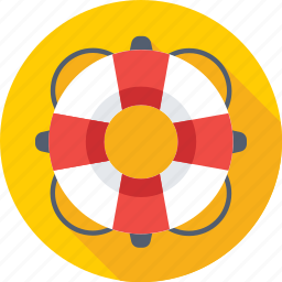 life belt, life buoy, life ring, safety equipment, support icon