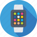 digital wristwatch, hand watch, smart watch, timer, wristwatch icon