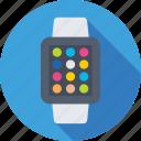 digital wristwatch, hand watch, smart watch, timer, wristwatch icon
