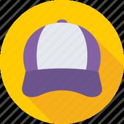baseball cap, cap, headwear, sports cap, trucker cap icon