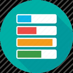 chart, diagram, economics, graph, pattern icon