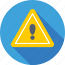 caution, danger, exclamation, exclamation mark, warning icon