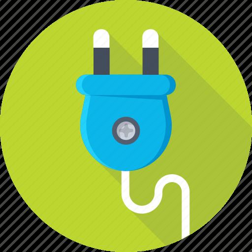 electrical plug, plug, plug connector, power, power plug icon