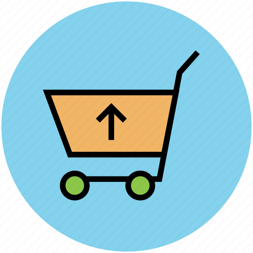 ecommerce, eshop, remove items, shopping, shopping cart, superstore, up arrow, webshop icon