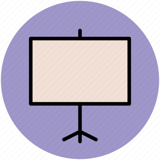 business, conference, education, projection screen, slide show, visual presentation icon
