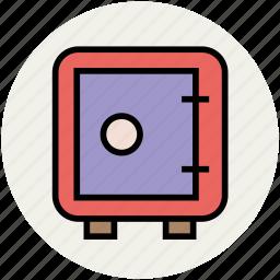 cash box, locker, money safe, safe, safe box, safety, security icon