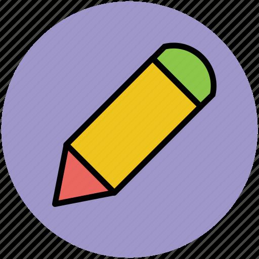 crayon, drafting, drawing, edit, pencil, sketching, write icon