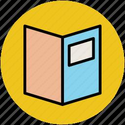 bill of fare, carte du jour, menu, menu book icon