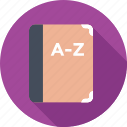 book, course book, exercise, learning, study icon