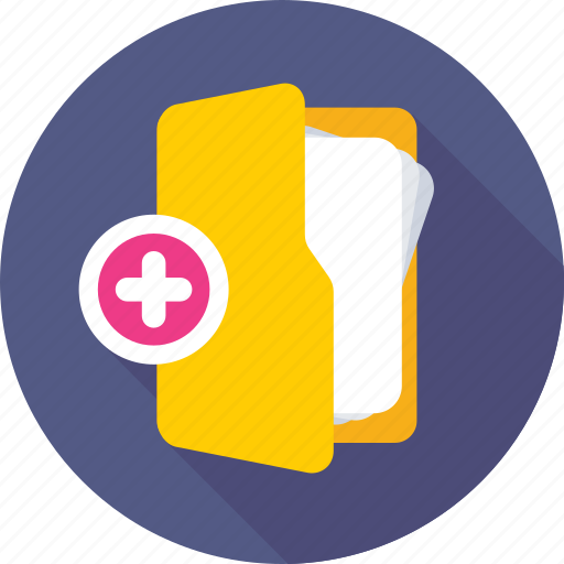 add folder, archive, create, folder, new folder icon