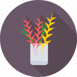 cup, limbs, office, plant, study icon