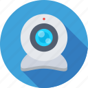 computer camera, live camera, video chatting, web camera, webcam icon