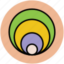 cone, filter, filtering, funnel, kitchen tool icon