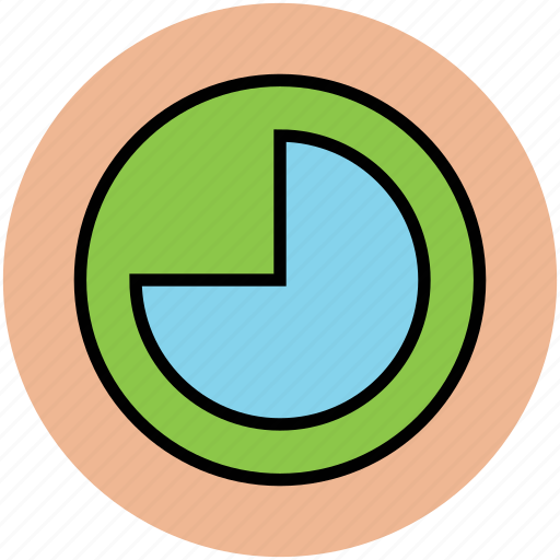chart, graph, infographic, pie graph, piechart, stats icon