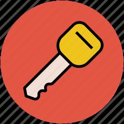 car key, house key, key, lock, locked, password, safe, secure icon