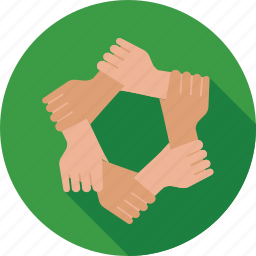 collaboration, cooperation, team, teamwork, together icon