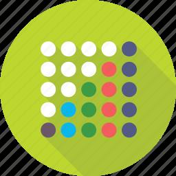 design, dots, model, pattern, seamless icon