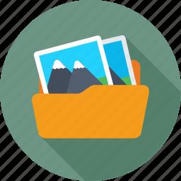 data, file, folder, image data, image folder icon