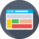 layout, template, web layout, web page, web template icon