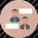 chat bubble, collaboration, communication, speech bubble, talk