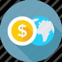 business, global business, globe, ground plan, world icon