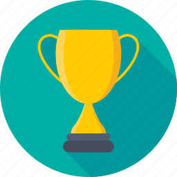 award, first rank, prize, trophy, trophy cup icon