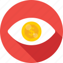 business view, eye, seo, seo visibility, view icon