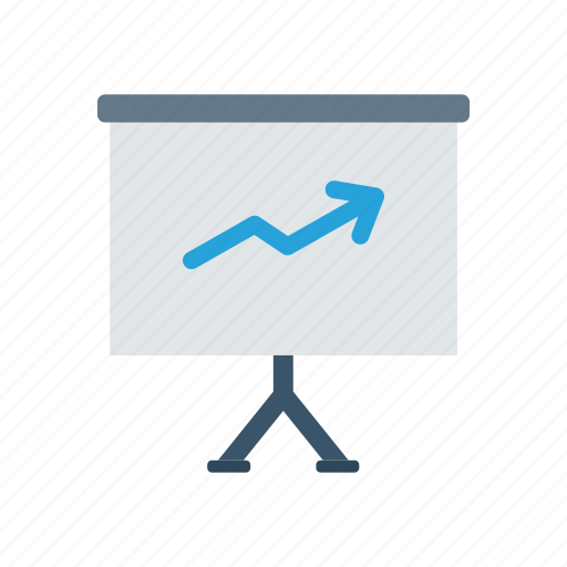 analytics, career, graph, growth icon