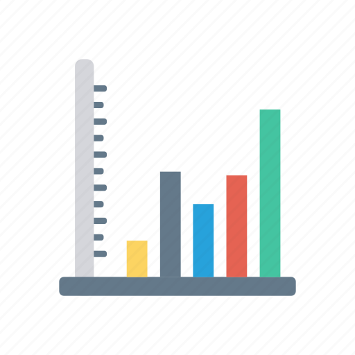 analytics, development, growth, presentation icon