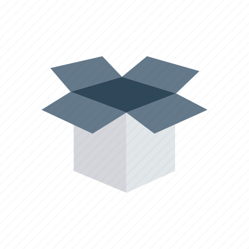 box, gift, package, shopping icon