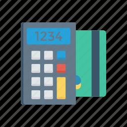 accounting, budget, calculator, math icon