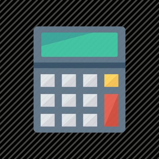 budget, calculator, education, mathematics icon