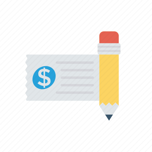 Cash, check, invoice, money icon - Download on Iconfinder