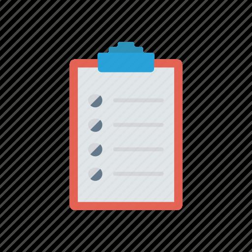 checklist, clipboard, document, todo icon