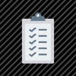 checklist, do, notes, tasks, to icon