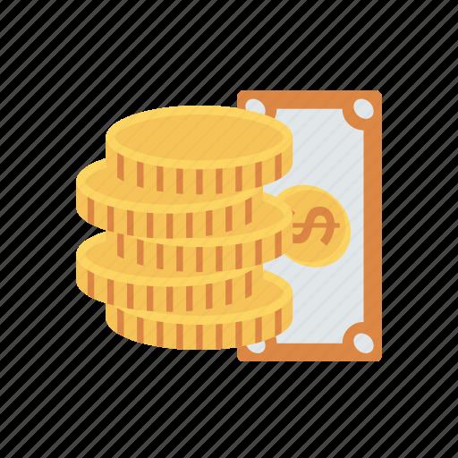Cash, coin, dollar, money icon - Download on Iconfinder