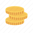 coin, dollar, earnings, income