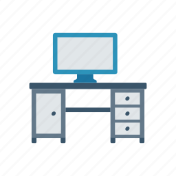 computer, desktop, office, pc icon