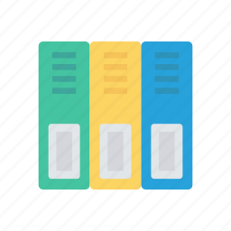 archive, drawer, files, office icon