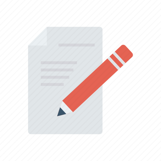 Document, edit, pen, write icon - Download on Iconfinder