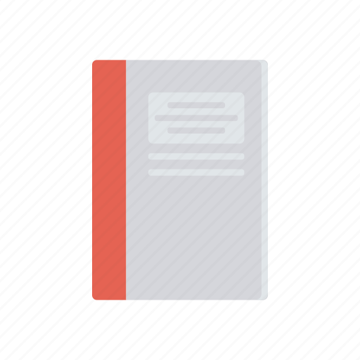 book, memo, notepad, text icon