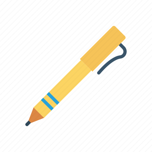 notes, pencil, school, stationery icon